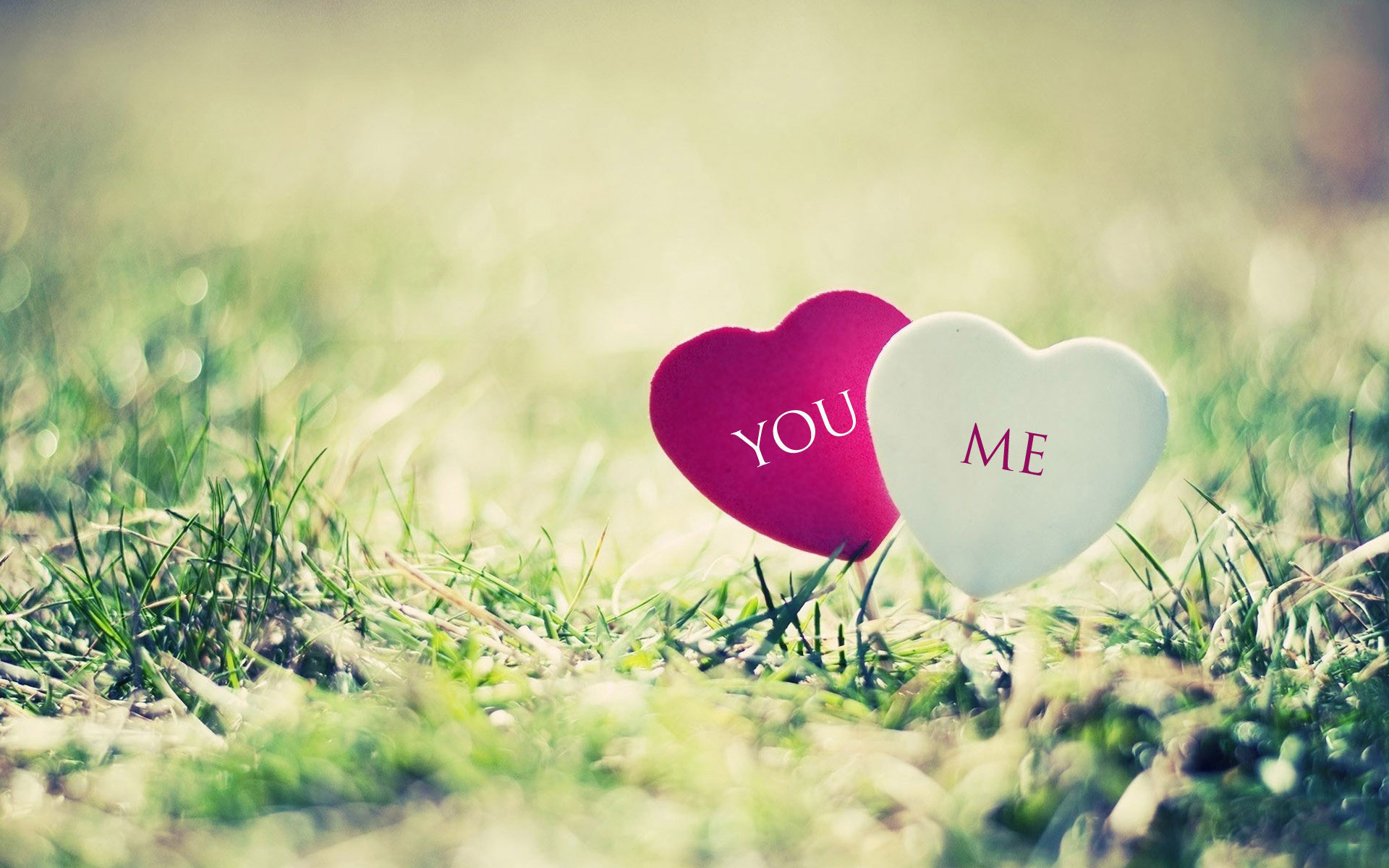 Hd wallpaper you and me - Heart Wallpaper Hd