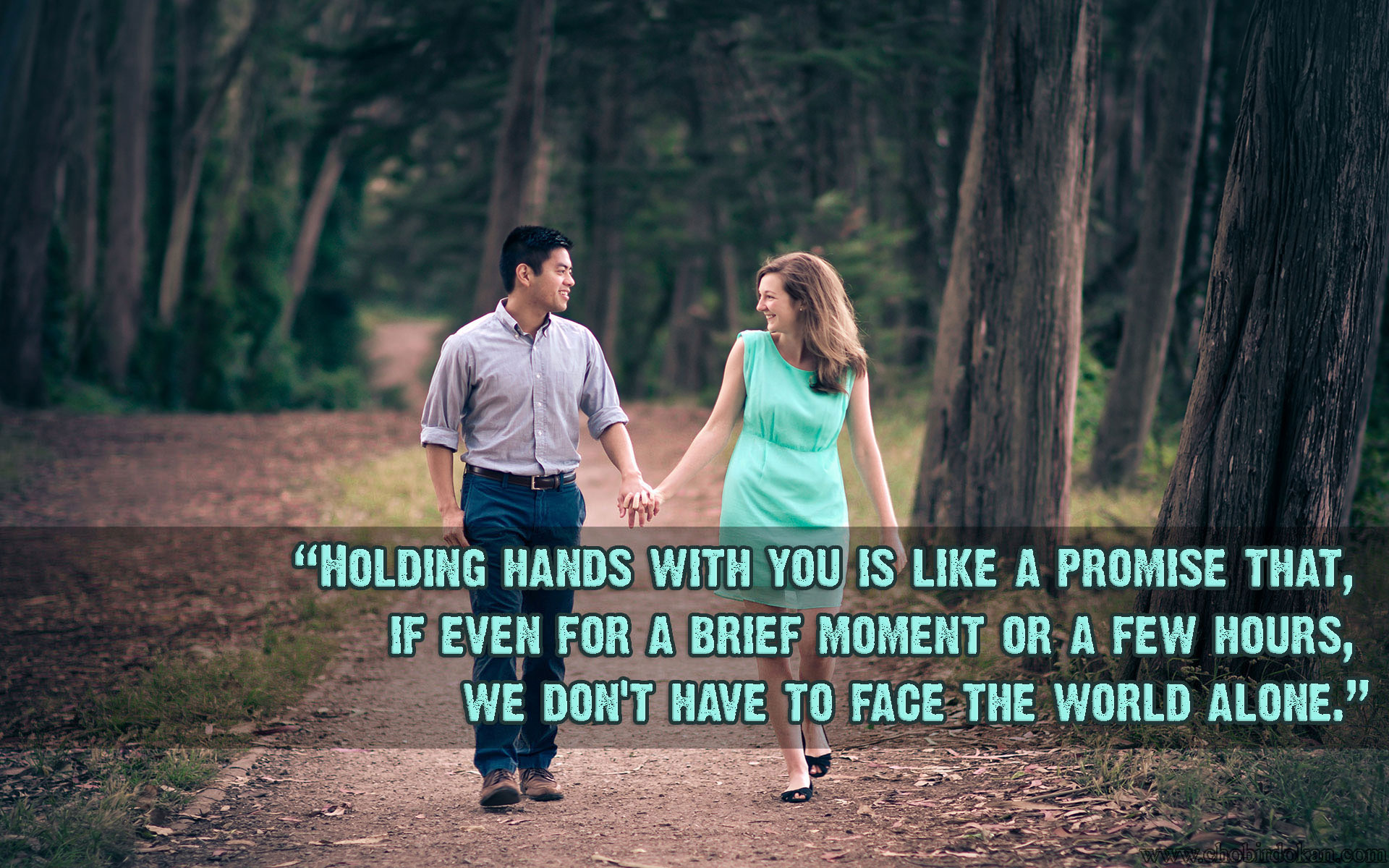 cute Love couple Wallpaper With Quotes : Images of cute Love couple Holding Hands with Quotes