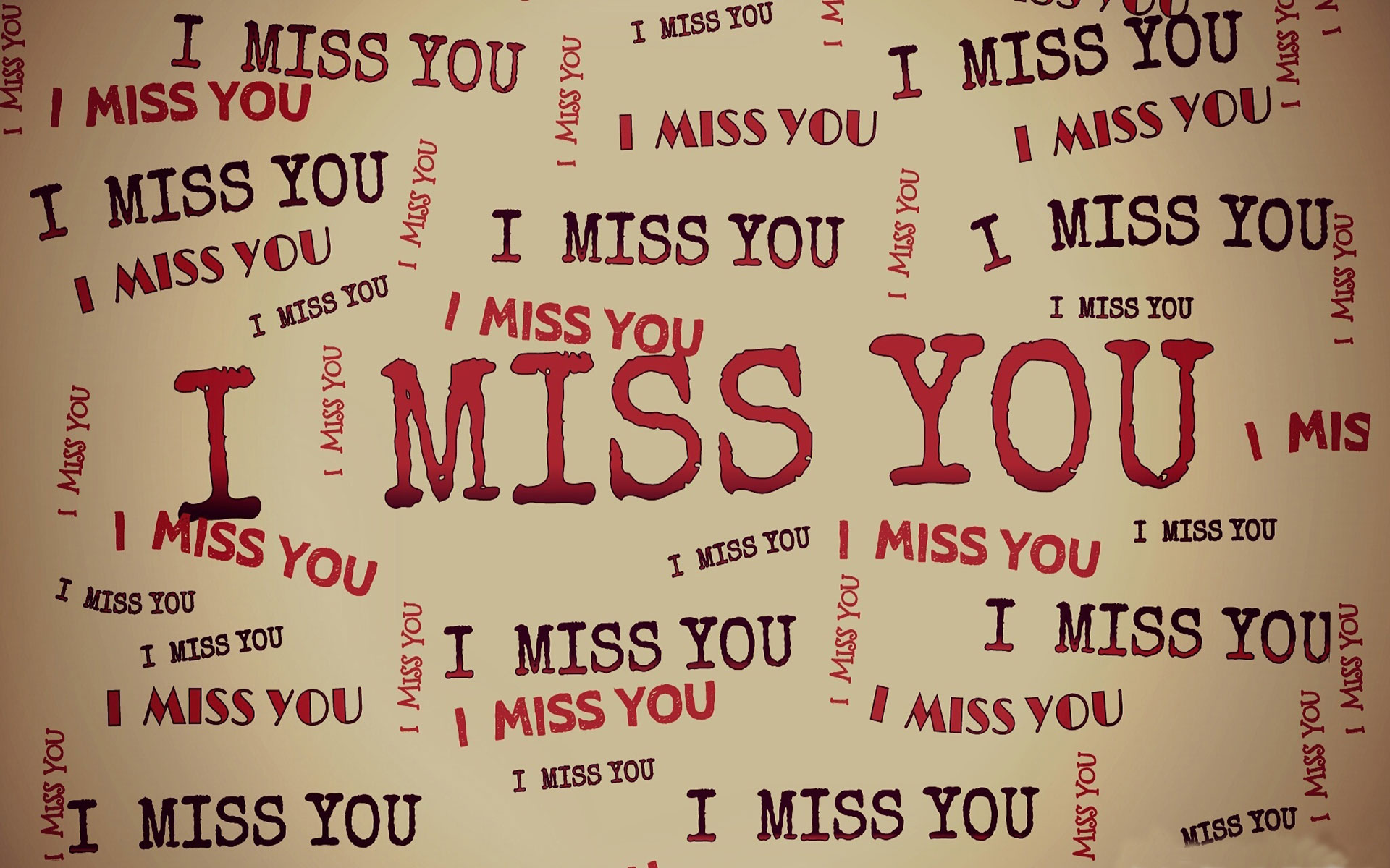 HD I Miss You Wallpaper for him or her-Romantic Wallpapers-Chobirdokan