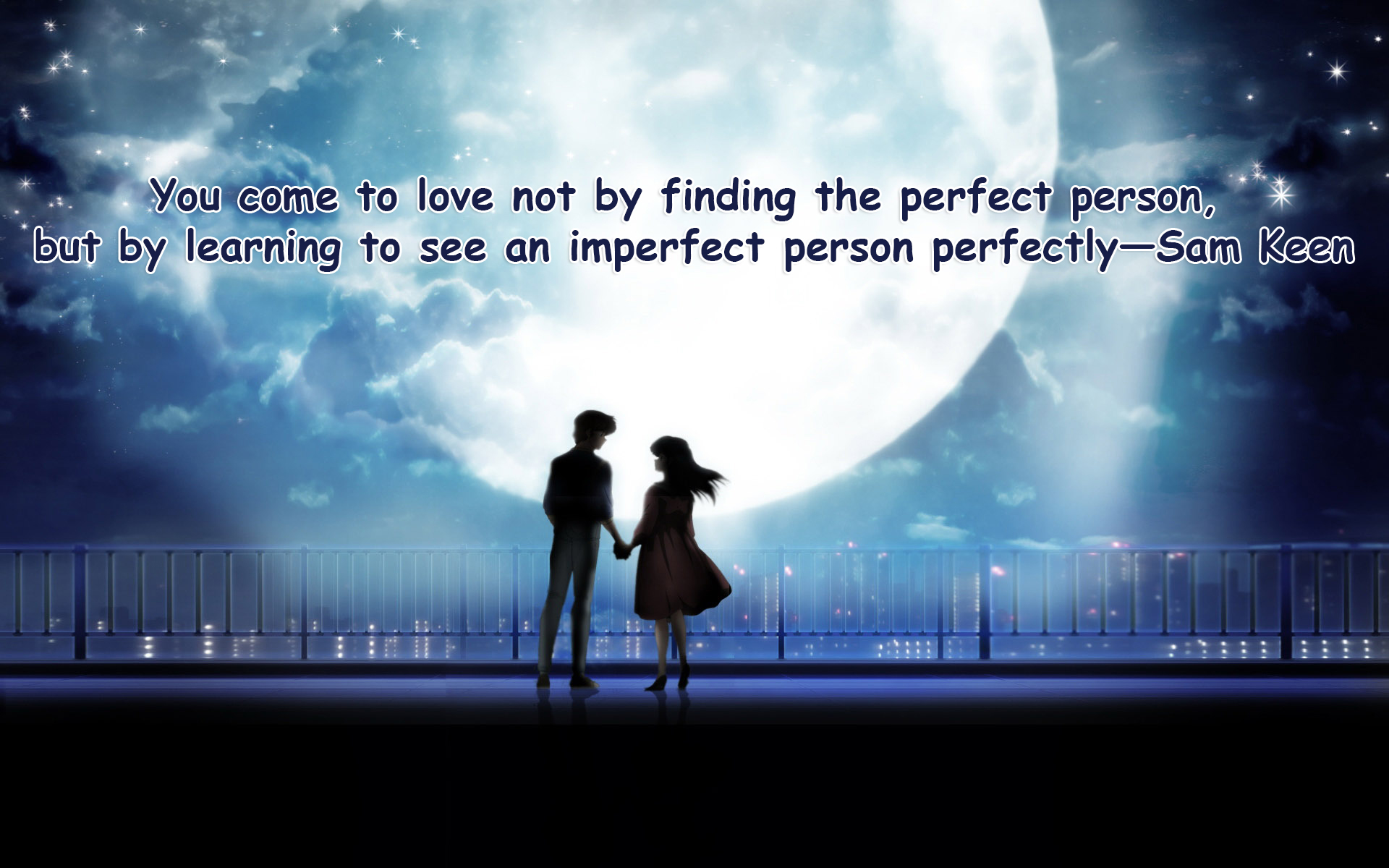 20+ Love Quotes Wallpaper -Romantic couple Images with Quotes