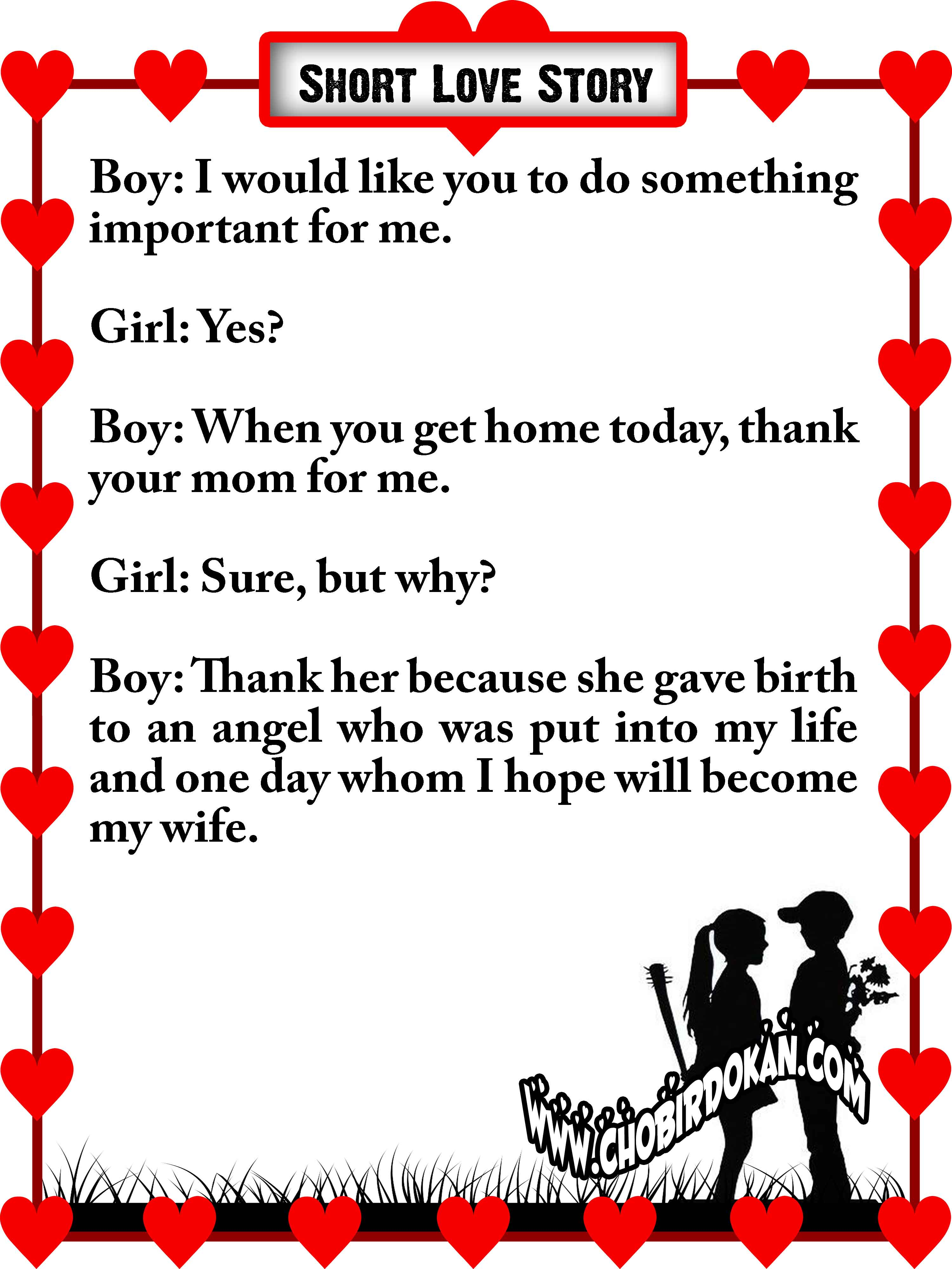 Cute stories to tell your girlfriend