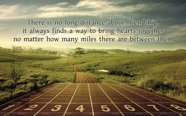 long distance quotes of friendship