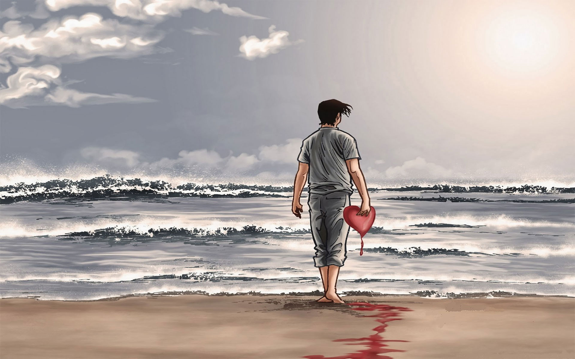 heart touching sad boy wallpaper alone boy sad images