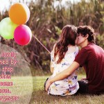 Love Quotes Wallpaper -Romantic Couple Images with Quotes