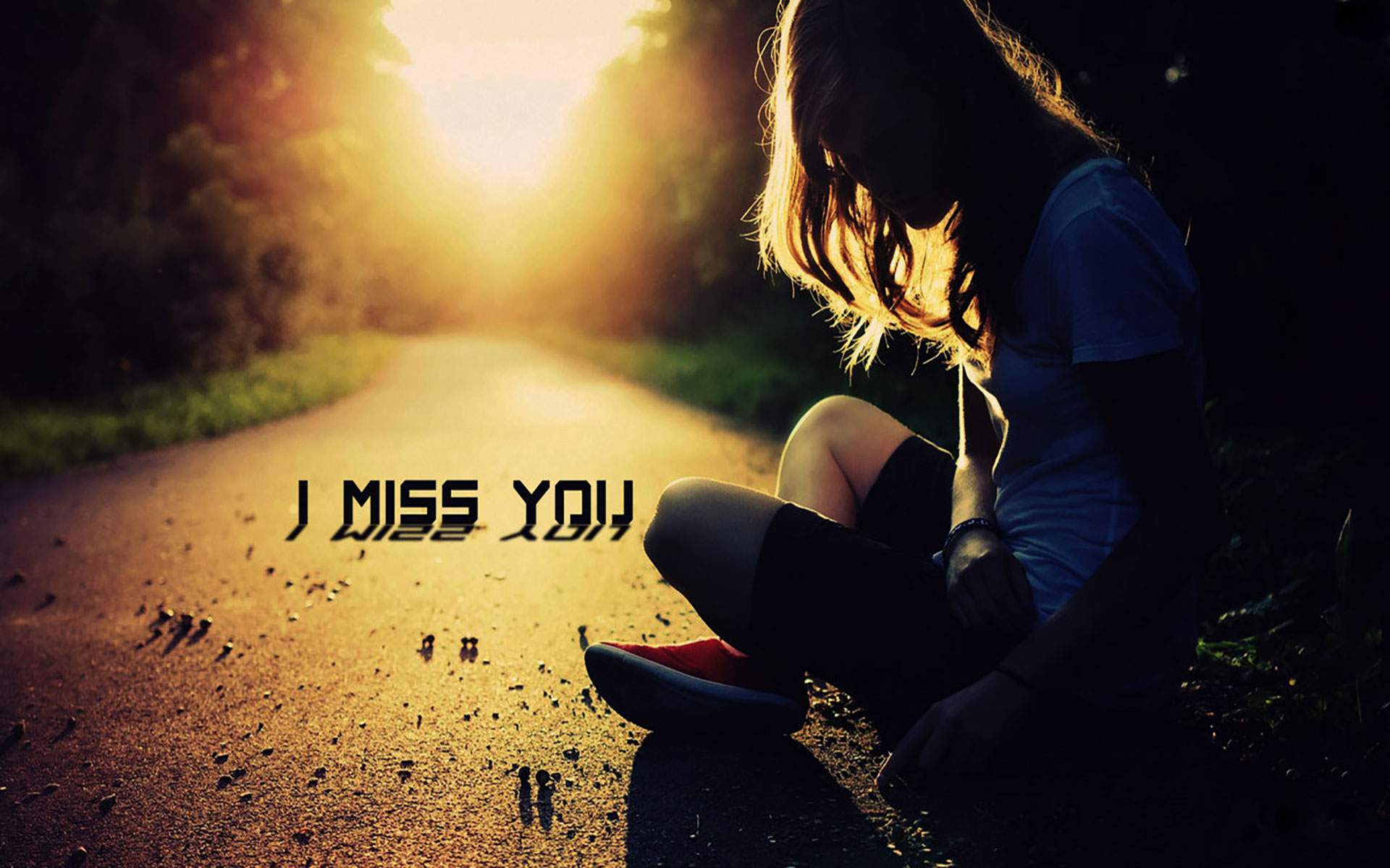 Love couple Miss U Wallpaper : HD I Miss You Wallpaper for him or herRomantic Wallpaperschobirdokan