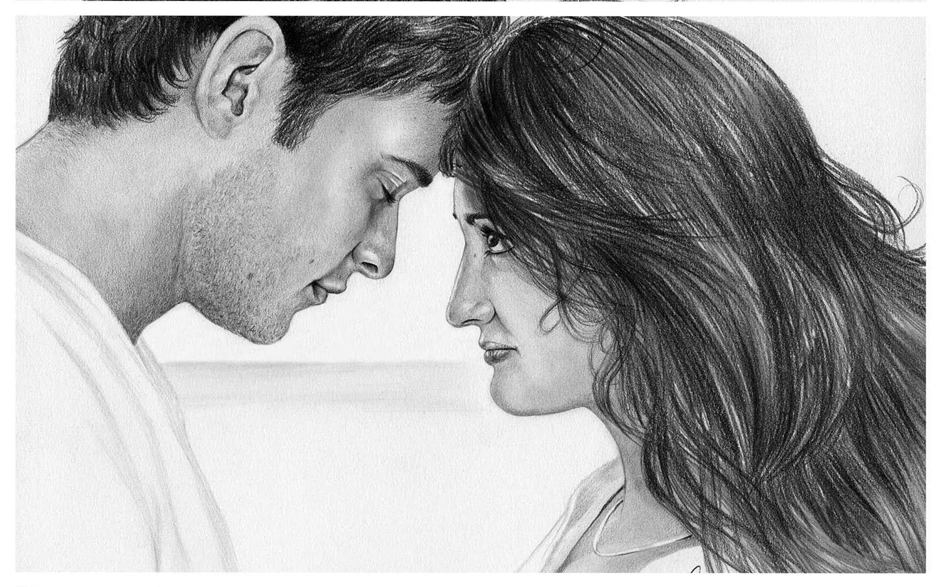 Love Wallpaper In Drawing : cute love drawings pencil art HD romantic sketch wallpaper