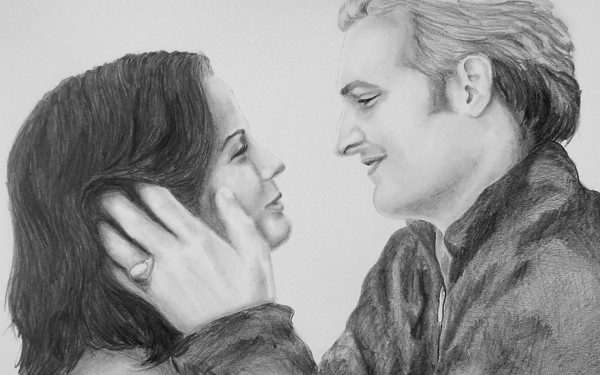 romantic sketch images
