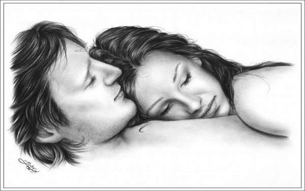 Love couple Sketch Wallpaper Hd : cute love drawings pencil art HD romantic sketch wallpaper