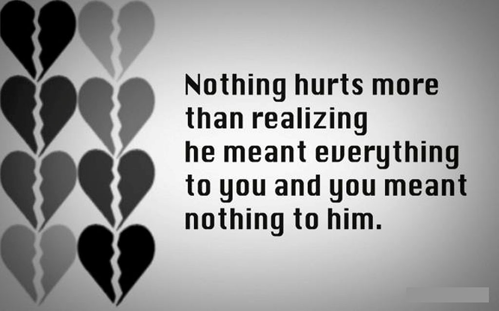 Sad Love Quotes For Him Custom 48 Heart Touching Sad Love Breakup Messages For Boyfriend With Images