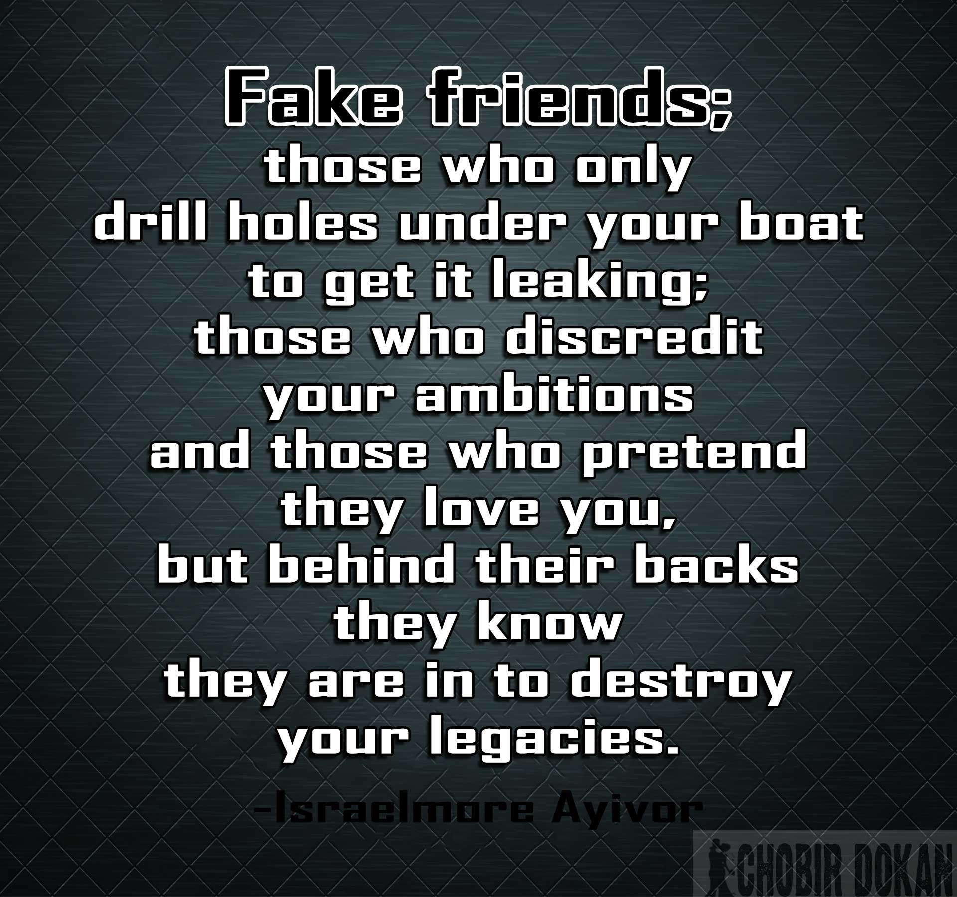 28+ Fake Friends Quote...